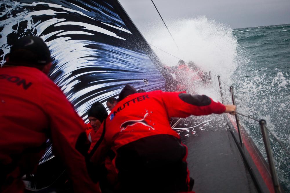 Kampf mit dem Pazifik