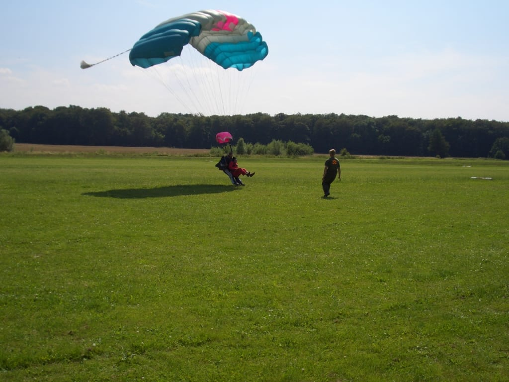 Fallschirmspringen Ostsee