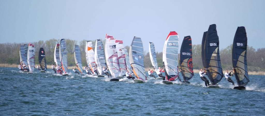 Startlinie Windsurfcup Dranske