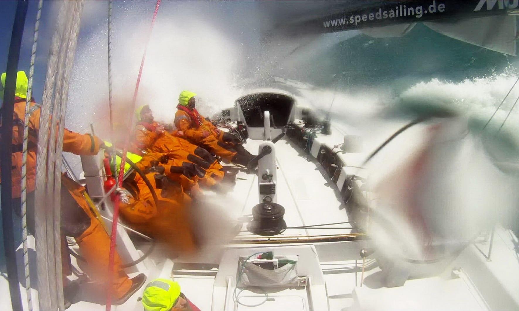 Rund Skagen 2010 auf der Glashäger Yacht ex-Illbruck