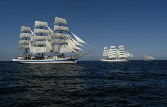 """Die """"MIR"""" auf der Hanse Sail 2011"""