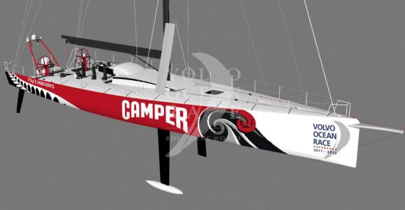 Konstruktion der VO70 von Team Camper