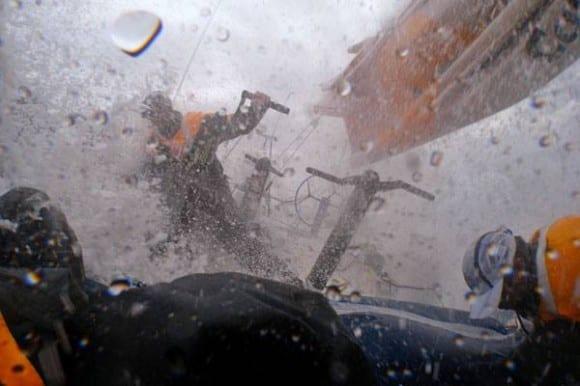 Wenn das Volvo Ocean Race doch zu hart wird