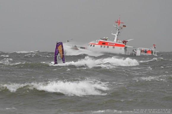 Saisonstart Windsurfen Kitesurfen Ostsee