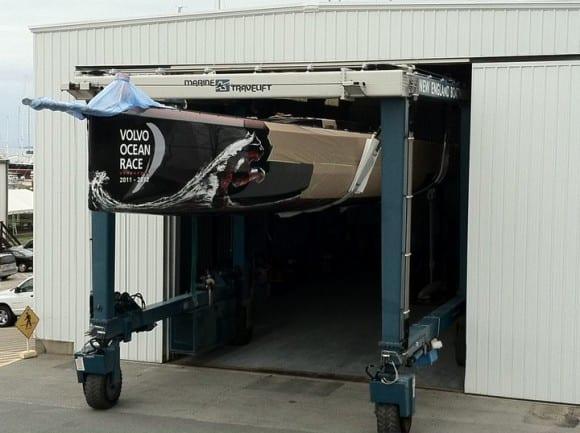 Volvo Ocean Racer werden losgelassen