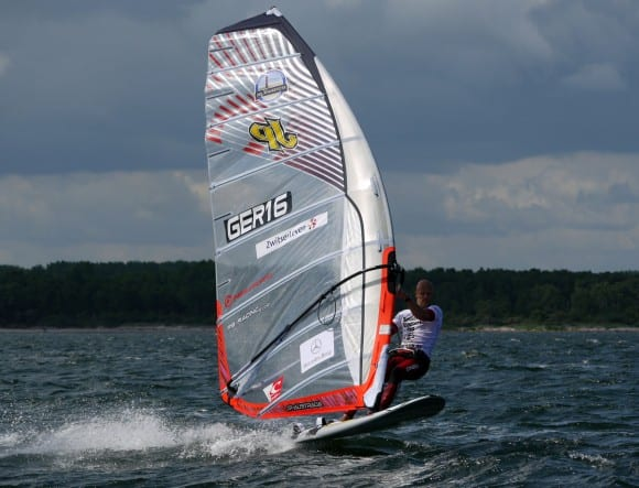 Wind beim Windsurfcup in Boltenhagen