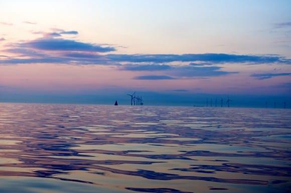 Wassersport und Windenergie Ostsee