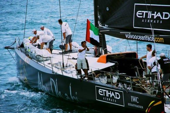Bilder vom In-Port Race – Abu Dhabi siegt