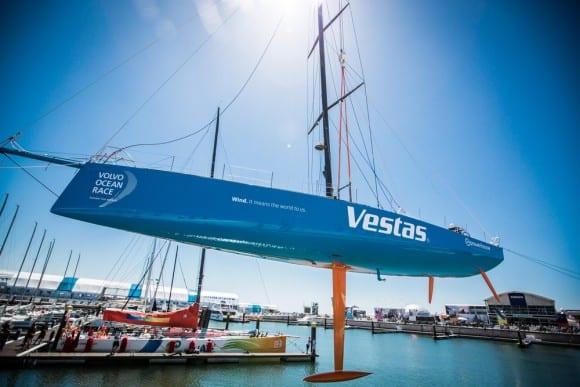 VO65 Team Vestas wieder im Wasser!