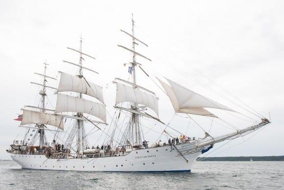 Mitsegeln auf der Hanse Sail